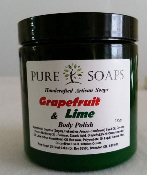 Grapefruit & Lime Scrub